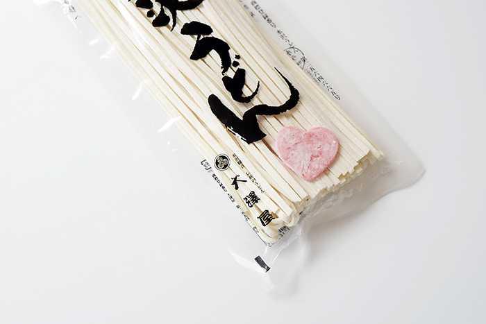 """อร่อยประทับใจต้อนรับวันวาเลนไทน์ด้วย """"LOVE Kitsune"""" อุด้งรูปหัวใจ จากร้าน Osawaya"""