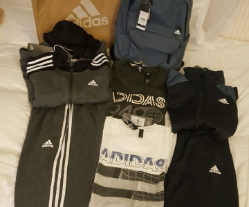 ถุงlucky bag Adidas