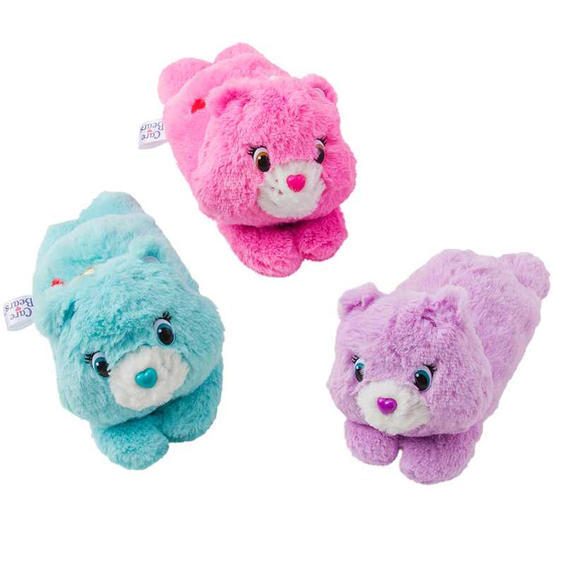 Care Bears พวงกุญแจตุ๊กตาใส่บัตรโดยสาร สายดึงได้