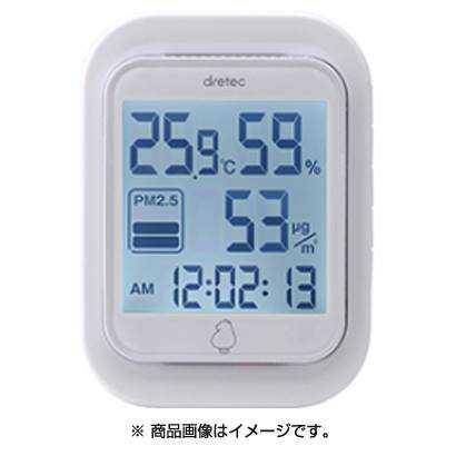 ( DRETEC ) O-700WT เครื่องวัดอุณหภูมิ , PM2.5