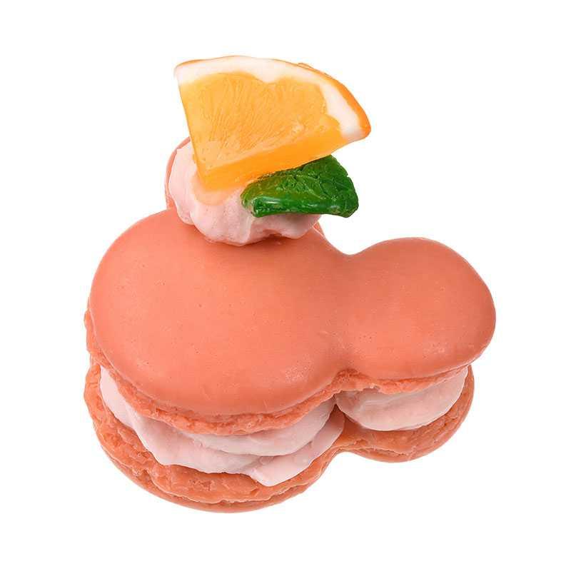 ( liilii ) Macaron soap Mickey orange สบู่มาการองมิกกี้เมาส์ กลิ่น ส้ม