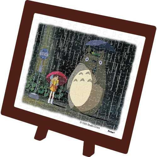 พัซเซิล Tonari noTotoro ภาพเฝ้ารอกลางสายฝน