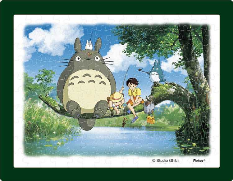 พัซเซิล  Tonari noTotoro ภาพจะตกปลาได้มั้ยนะ?