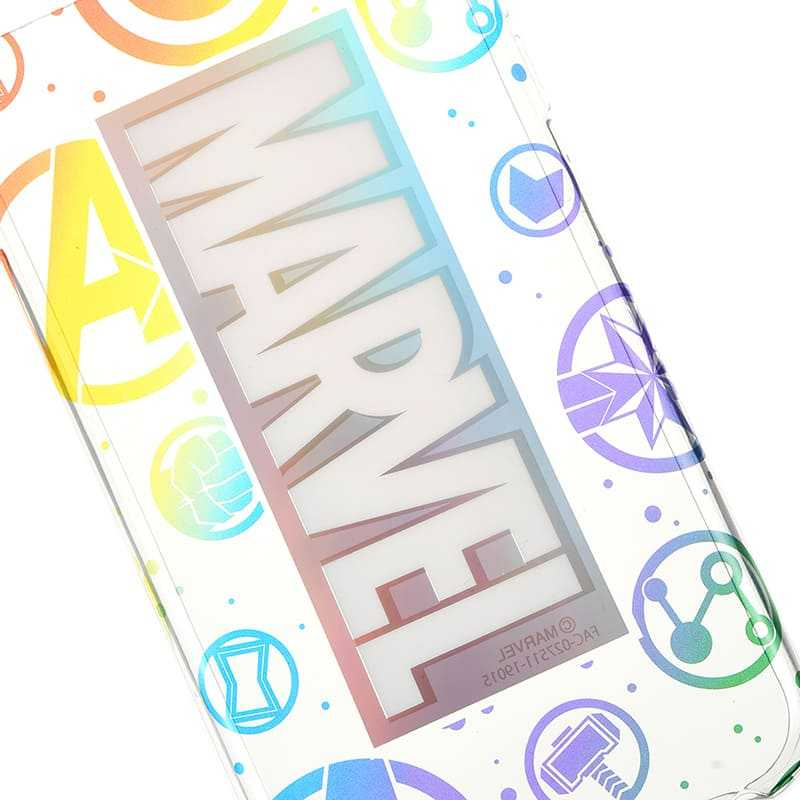 ( Marvel ) เคส iPhone 6 / 6s / 7 / 8  Marvel Avengers / End Game - Rainbow