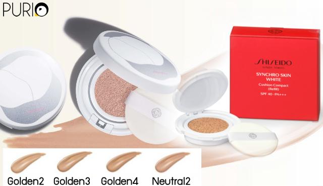Shiseido Synchro Skin White Cushion Compact SPF40 PA+++ Refill 12g