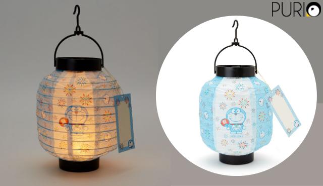 โคมไฟทรงญี่ปุ่น ใส่ถ่าย ลายDoraemon