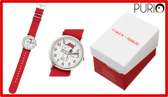 Timex Snoopy Watch นาฬิกาข้อมือกันน้ำ