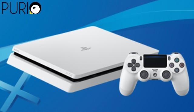 PlayStation®4 HDD500GB เครื่องเกมและจอย สีขาว