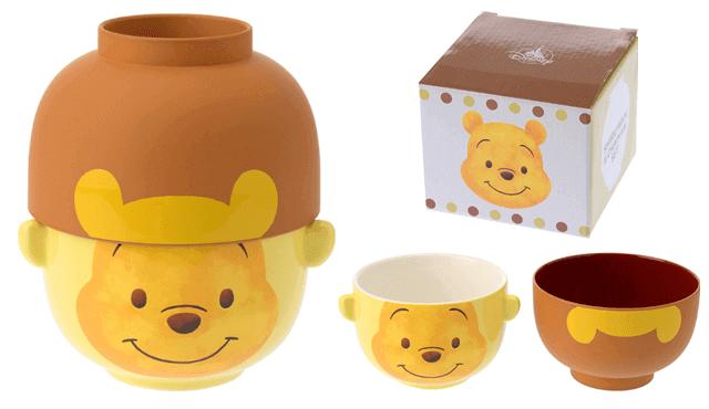 Winnie the Pooh ชุดชามและถ้วยน้ำชา ลายหมีพูห์
