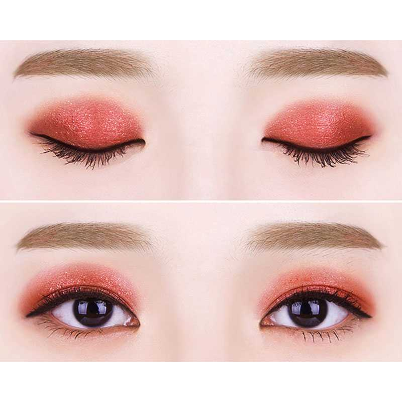 [Witch's Pouch] Chip Eyeshadow Cherry Red Pearl Pigment Play with Color สีแดงเชอร์รี่