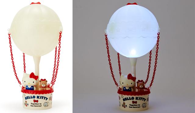 Hello Kitty โคมไฟตั้งโต๊ะทรงบอลลูน