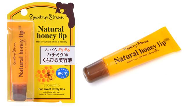 Country & Stream Natural Honey Lip ลิปเพิ่มความชุ่มชื่น ชนิดหลอด 10g